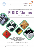 FIDIC Claims Dubai Dec 2018
