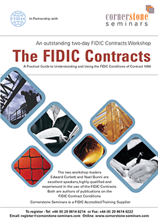 FIDIC Contracts brochure front